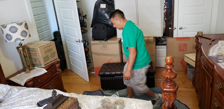 We come and pack everything up and it move it and then up pack it! Call us today!