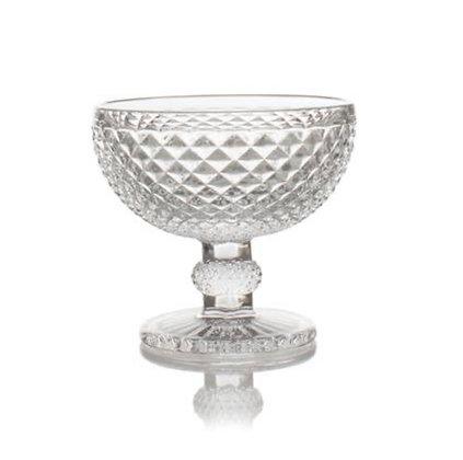 RUGLETE -Glassbolle på stett 12x11 cm