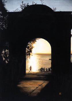 "Sunset Serenity 16""x22"""