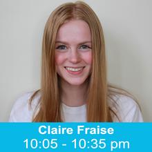 Mini-Talk with Claire Fraise