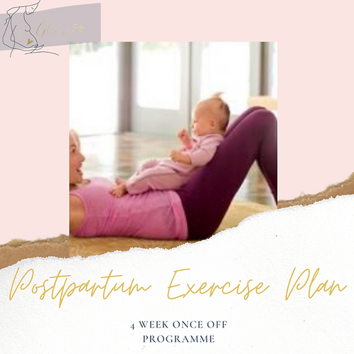 Postpartum Exercise Plan