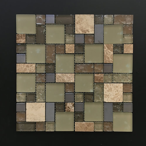 Glass and Stone Mosaic 8020
