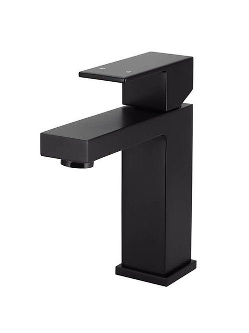 Matt Black Short Tap Square