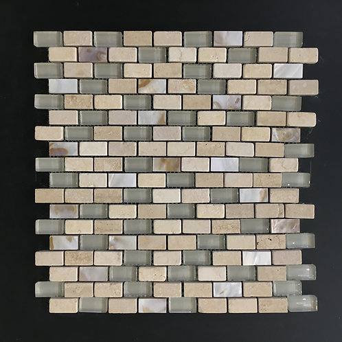 Glass and Stone Mosaic 3016