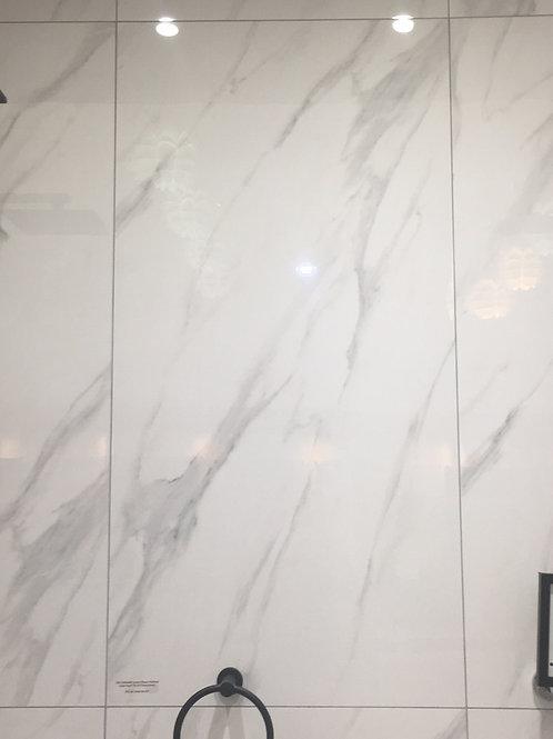 Cararra Bianco Panel per sheet