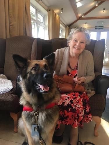 Asha at a Care Home