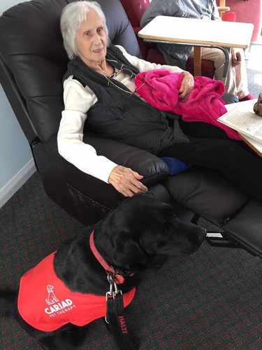 Ruby visiting a Care home