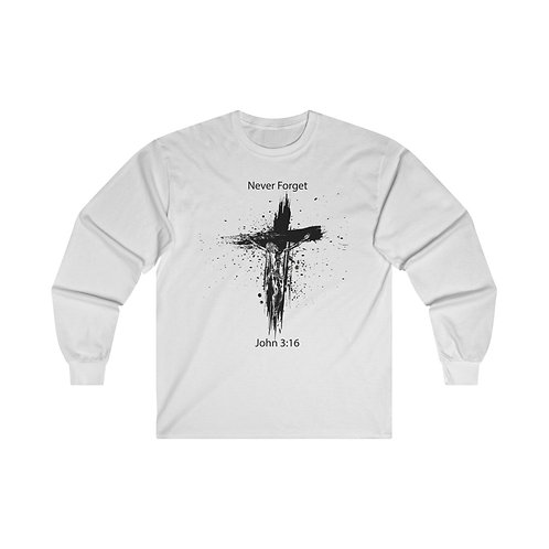 Never Forget Long Sleeve Tee