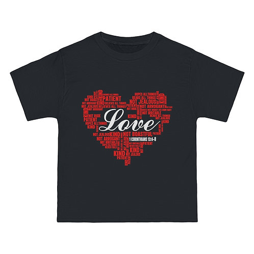 Love Heart Shirt (Black)