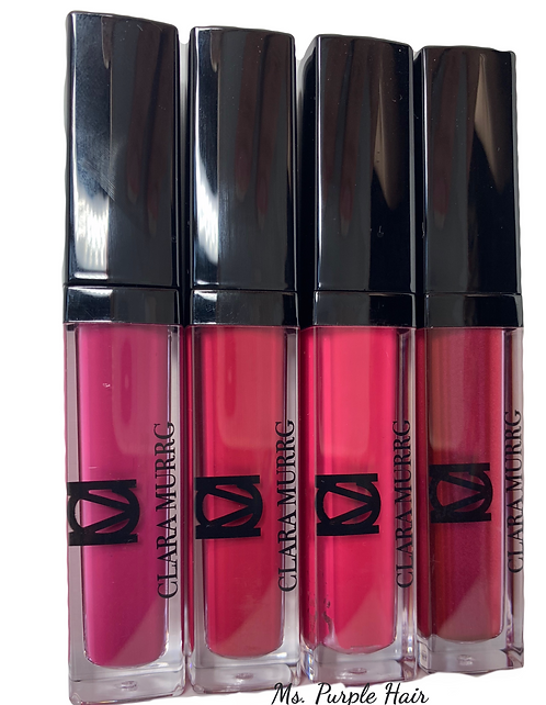 CLARA MURRG® Ms. Purple  Velvet Liquid Lipstick