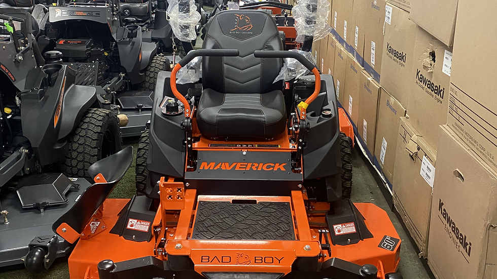 "2021 BAD BOY MAVERICK 54"" / 60"" W/ KOHLER ENGINE MOWER PACKAGE"
