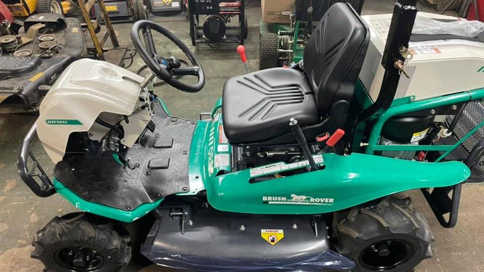 Orec America brush rover 4 wd mower