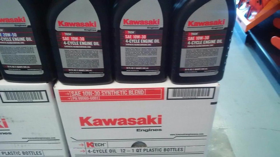 CASE OF KAWASAKI K TECH 10W30 ENGINE OIL