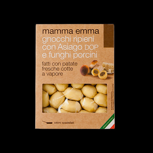 Mamma Emma Fresh Asiago Cheese & Porcini Filled Gnocchi
