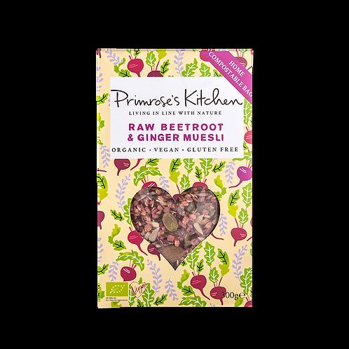 Primrose's Kitchen Organic Beetroot Ginger Muesli 300g