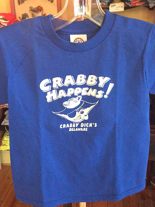 Youth Crabby Happens Tee
