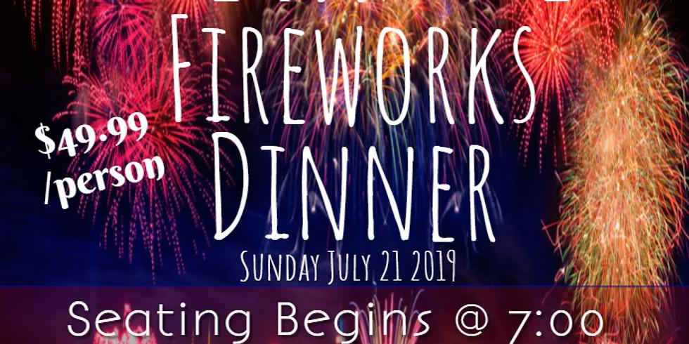 Delaware City Day Deckside Fireworks Show !