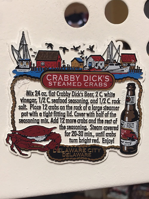 Steamed Crabs Magnet