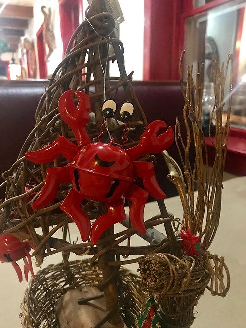 Crab Jingle Ornament