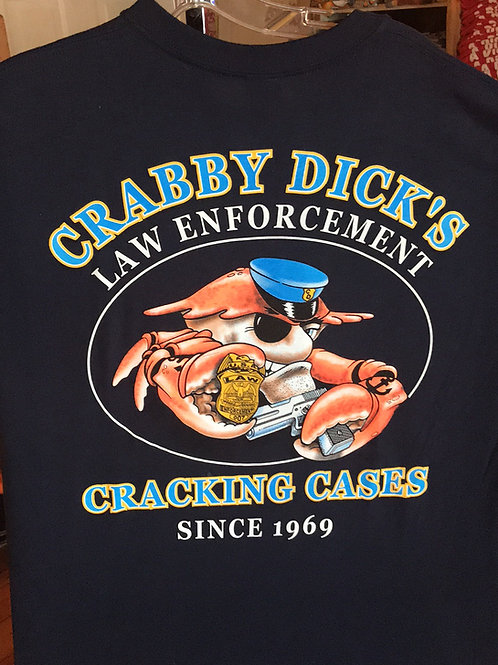 Crabby Law Enforcement Tee