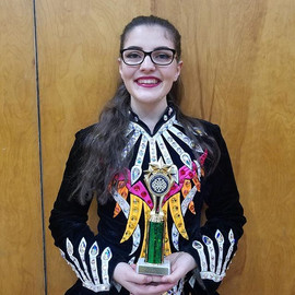 Great job Kassie, 1st place in your trad