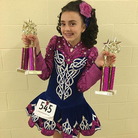 Great job Faith, 1st, 2nd & two 3rds in