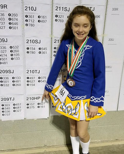 Well done Sara, 3 third places!!_._._.jp