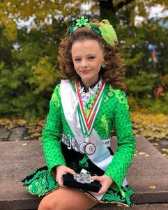 Brilliant Mackenzie, 1st place overall w