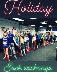Holiday sock exchange was a success! 🎅?