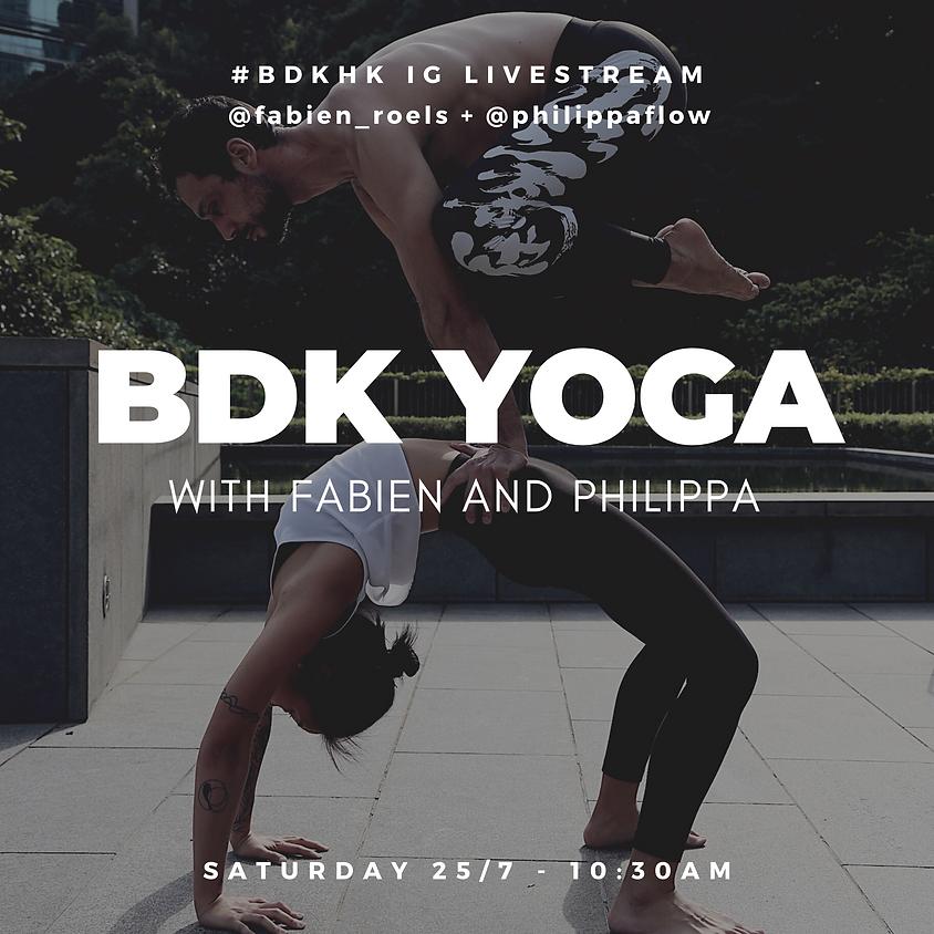 Budokon Yoga with Fabien