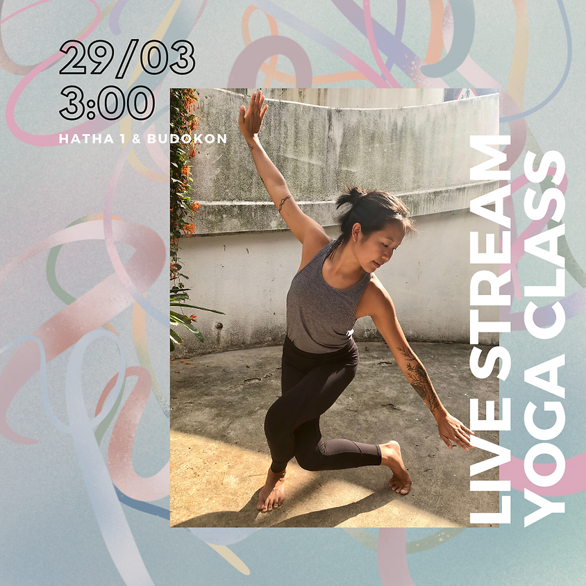 #stayathome Live Stream Yoga Class