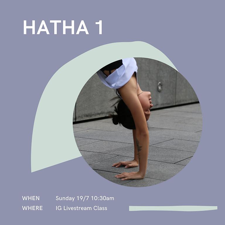 IG Livestream Class ~ Hatha 1