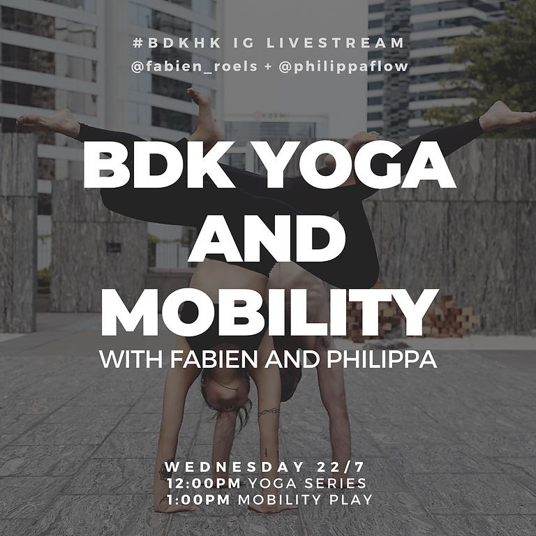 Budokon Yoga & Mobility with Fabien