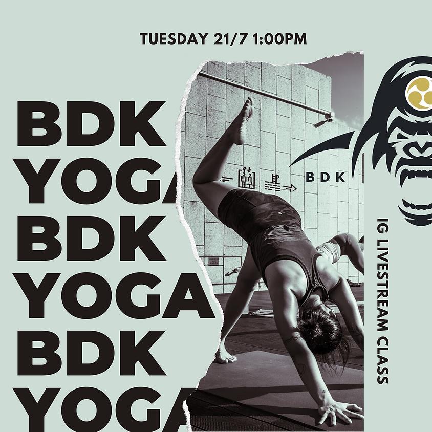 IG Livestream Class ~ Budokon Yoga