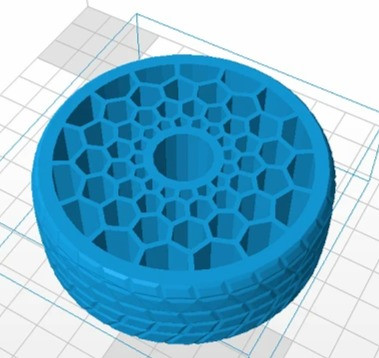 Shell thickness setting of 3D printer