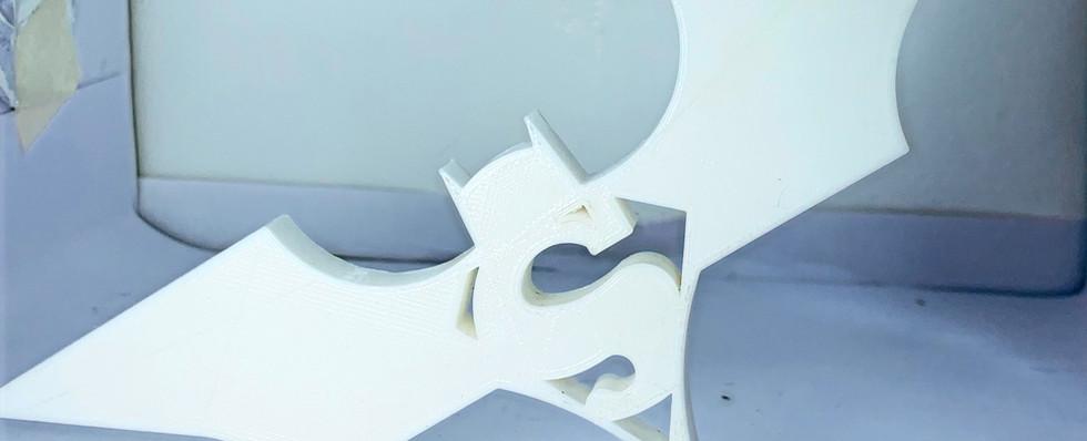 3D printer filament PLA White