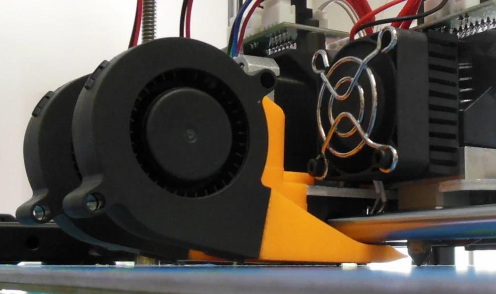 Cooling fan setting of 3D printer