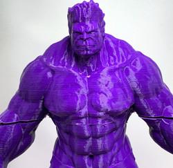 3D printer filament PLA+ violet