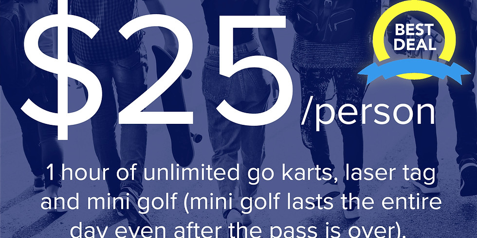 1-Hour Unlimited Pass