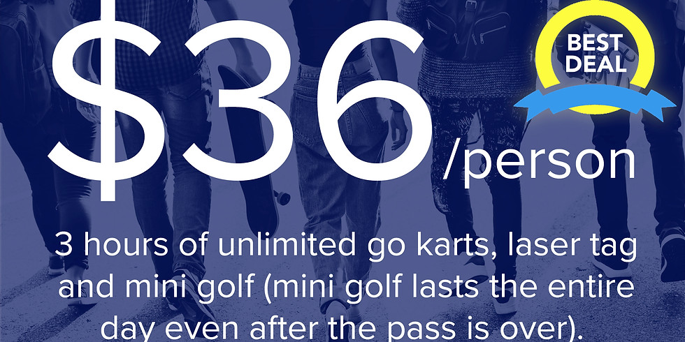 3-Hour Unlimited Pass