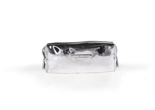 Estuche para Maquillaje - Cosmetic Bag Mirror Silver
