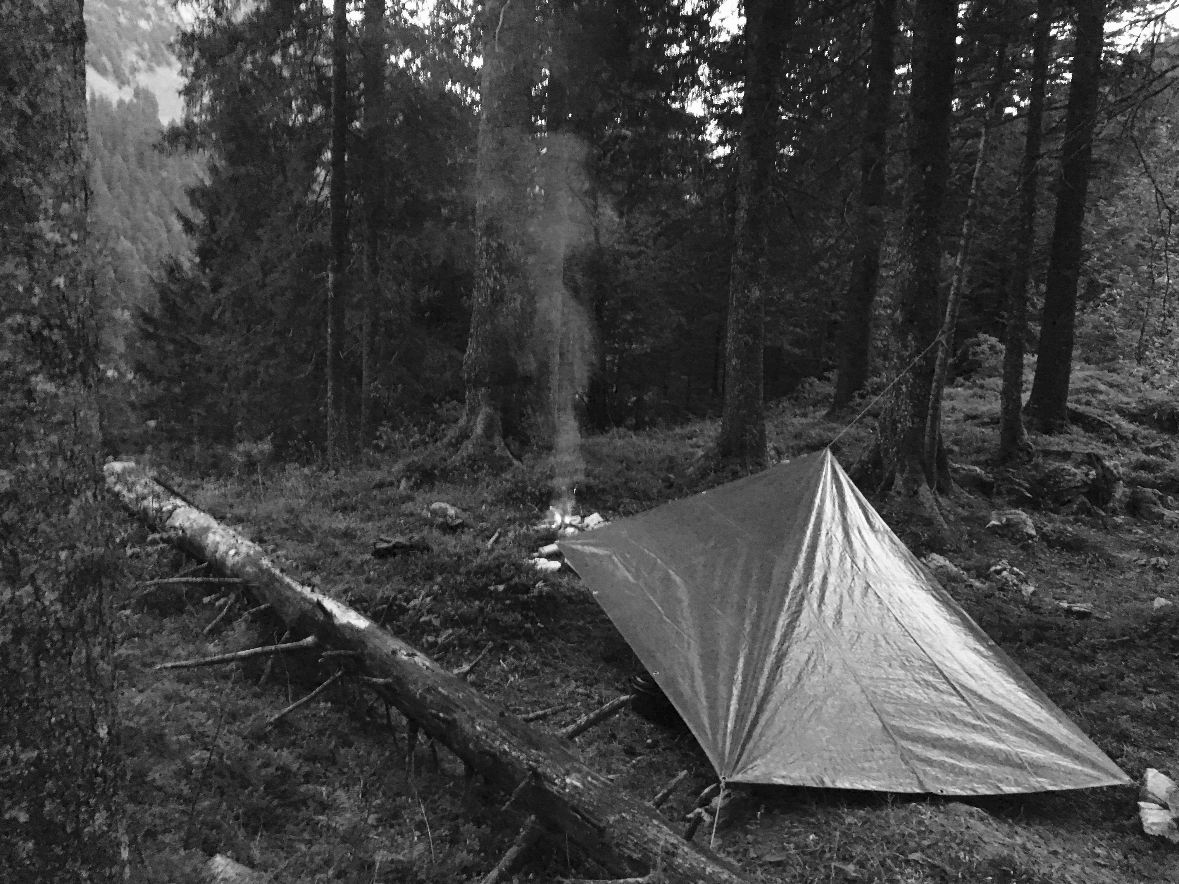 Wo schlägst du dein Zelt auf?