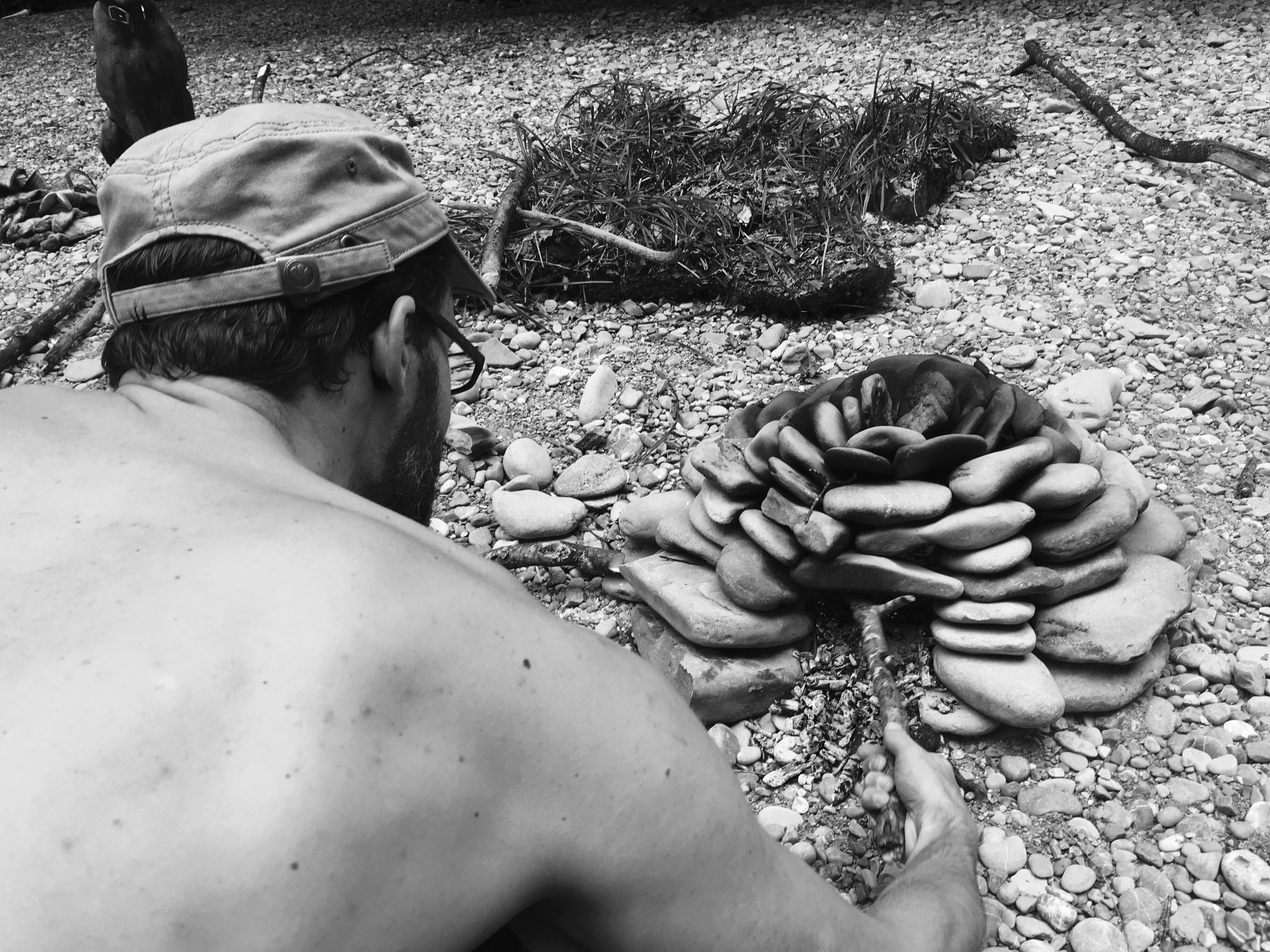 Mikroabenteuer am Feuer