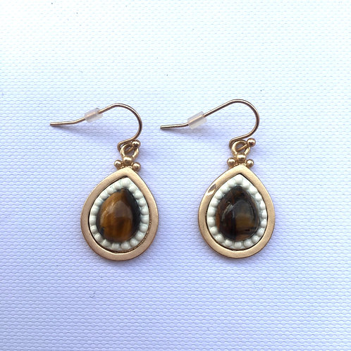 TigersEye Teardrop