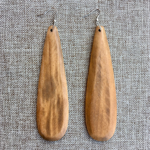 Natural Wooden Teardrop