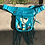Thumbnail: TURQUOISE CALFSKIN PONY HIP PACK!