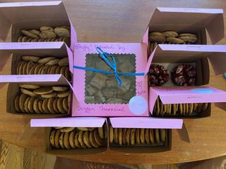 Assortment of Cookies, Blondies and Brownies