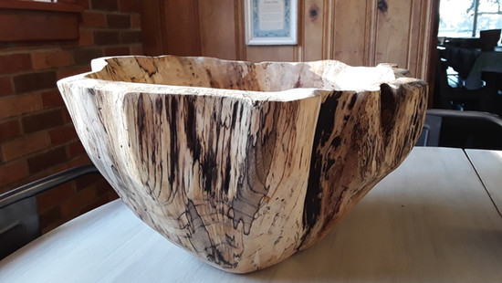 Large Highly Spalted Pecan Bowl