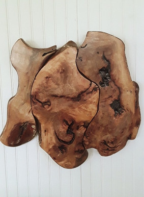 Wall Art made from Reclaimed Pecan Wood