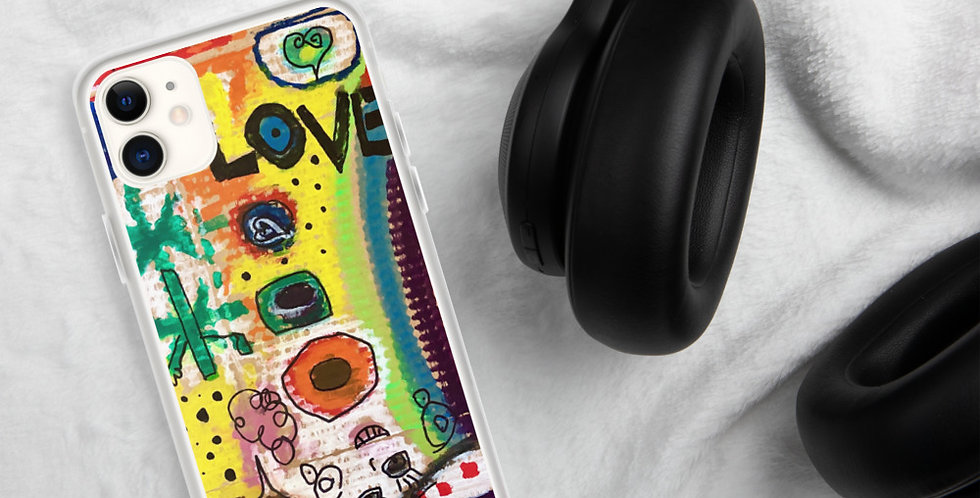 iPhone Case THE COLORS OF LOVE